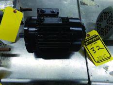 LAFERT TYPE AMPH80ZAA4 ELECTRIC MOTOR, 200/280 V., 3-PHASE