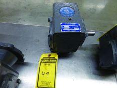BOSTON GEAR 700 SERIES GEAR REDUCTION, CAT #F715-10-B56