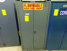 FLAMMABLE CABINET FOR 55-GAL. DRUM