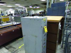 LOT OF TABLES, DESKS, COPY MACHINE & SHELVES