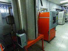 MOTAN DRYER MODEL MDD200, S/N 9002833, 480 V., 3-PH, W/ DRYER HOPPER