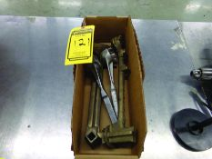 BOX OF DRUM PLUG WRENCHES