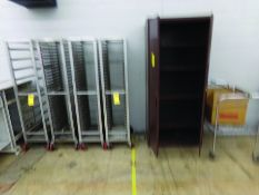 LOT OF ROLLING CARTS, TABLES & CABINETS