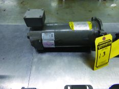 BALDOR 1/2HP DC ELECTRIC MOTOR, 90 V., CAT #3326, SPEC #33-20517139