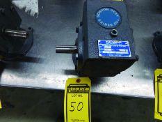 BOSTON GEAR 700 SERIES GEAR REDUCTION, CAT #F715-10-B5J