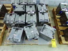 PALLET OF (14) PLASTIC INJECTION MOLDS