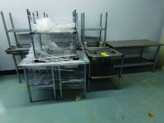 (10) STAINLESS TABLES
