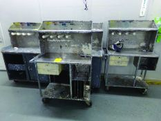 LOT OF (8) WORK STATIONS