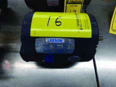 LEESON 1/2-HP ELECTRIC MOTOR, 208-230/460 V., 3-PHASE, CAT #110143.00, MODEL C6T34NB1D