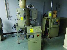 CONAIR DRYER MODEL DBBH045000000, S/N D50403, 480 V., 3-PH, W/DRYER HOPPER & CONAIR POWER FILL