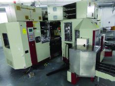 KAMMANN 2004 HIGH SPEED OFFSET PRINTER, S/N 10996, 480 VOLT, 3-PHASE