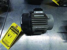 SPECK ELECTRIC MOTOR, S/N 800131101H0026