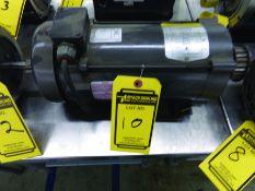 BALDOR 1-HP, DC, ELECTRIC MOTOR, 90 V., S/N W0512050389