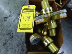 BOX OF (3) REGULATORS