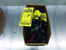 BOX OF ALLEN WRENCHES