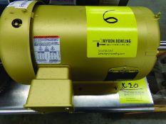 BALDOR 5-HP ELECTRIC MOTOR 230/460 V., 3-PHASE, CAT #EM3613T, S/N F1702161709