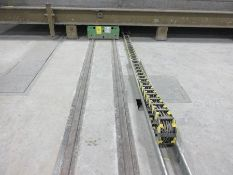 2012 VOLLERT CASTING TRANSFER CARS, MODEL QHW-17-320, 480/60/3, 17,000 KG. LOAD, SET #'S 2.1, 2.2