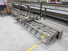 RATEC STEEL FORMS; PALLET CONCRETE FORMS IN VARIOUS SIZES, CASTING PALLETS CAPABLE OF FORMING