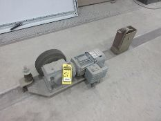 PALLET TRANSFERRING WHEELS THROUGHOUT FLOOR, APPROX. (154) WHEELS, (15) 1.5 KW DRIVE MOTORS AND
