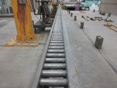 2012 VOLLERT PASS-THROUGH FORM WASHERS & POWER ROLLER CONVEYOR SYSTEM, 240' OF CONVEYOR, (1) 10'