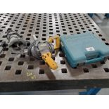 MAKITA SKILL SAW, ELECTRIC ANGLE GRINDER & ELECTRIC PLUNGE ROUTER