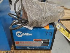 MAXSTAR 200 WELDER WITH MILLER CONTROL BOX