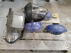 PALLET OF WELDING HELMETS