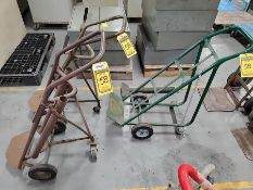 (3) 3-WHEEL BOTTLE CARTS