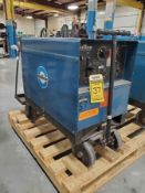 MILLER DIALARC HF CC-AC/DC ARC WELDER ON CART
