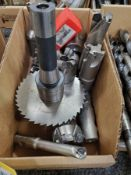 LOT: FACE MILL CARBIDE INSERT TOOLING, CUTTERS