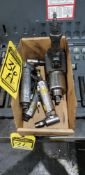 PNEUMATIC 1/4'' DIE GRINDERS AND 1/2'' DR. IMPACT WRENCH