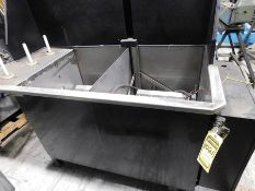 TWIN 24'' PARTS WASHING DIP TANK