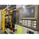 310 TON TOSHIBA ISGS310V10-19-AT PLASTIC INJECTION MOLDING MACHINE.
