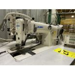 2 JUKI MODEL MH-481 AND AMS-210EN SEWING MACHINES, SERIAL NUMBER 3M1DC00212/22A3EA00188