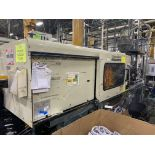 220 TON CINCINNATI MILACRON VT-220-20 PLASTIC INJECTION MOLDING MACHINE, MFG YEAR 1997