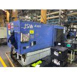 500 TON JSW J500ELL PLASTIC INJECTION MOLDING MACHINE, MFG YEAR 1998