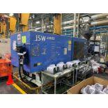 500 TON JSW J500ELL PLASTIC INJECTION MOLDING MACHINE, MFG YEAR 1997