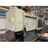 500 TON CINCINNATI MILACRON VH-500-105 PLASTIC INJECTION MOLDING MACHINE.