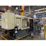 500 TON CINCINNATI MILACRON VH-500-105 PLASTIC INJECTION MOLDING MACHINE, MFG YEAR 1994