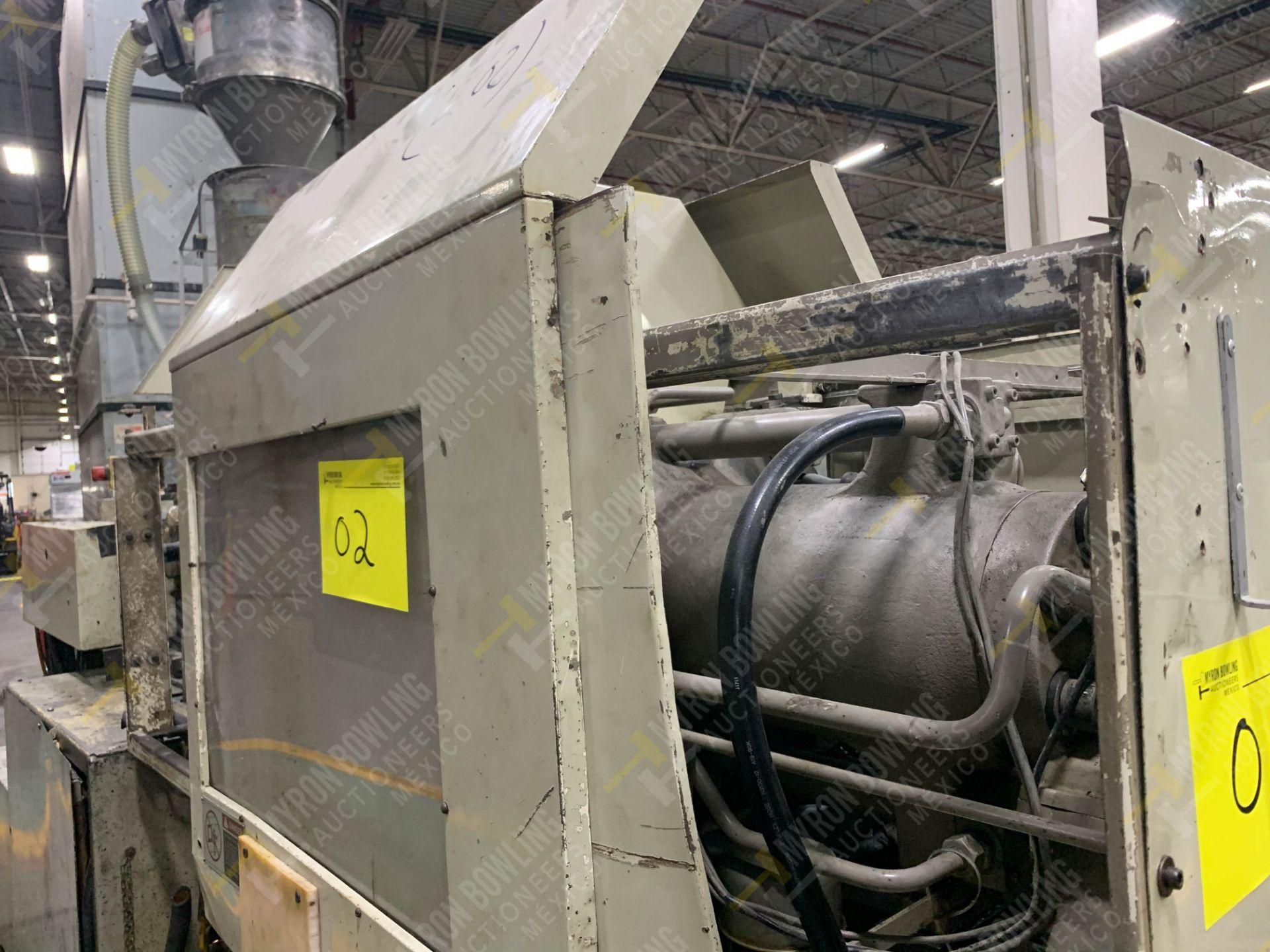 Lot 2 - 90 TON TOSHIBA ISG90 PLASTIC INJECTION MOLDING MACHINE, MFG YEAR 1997.