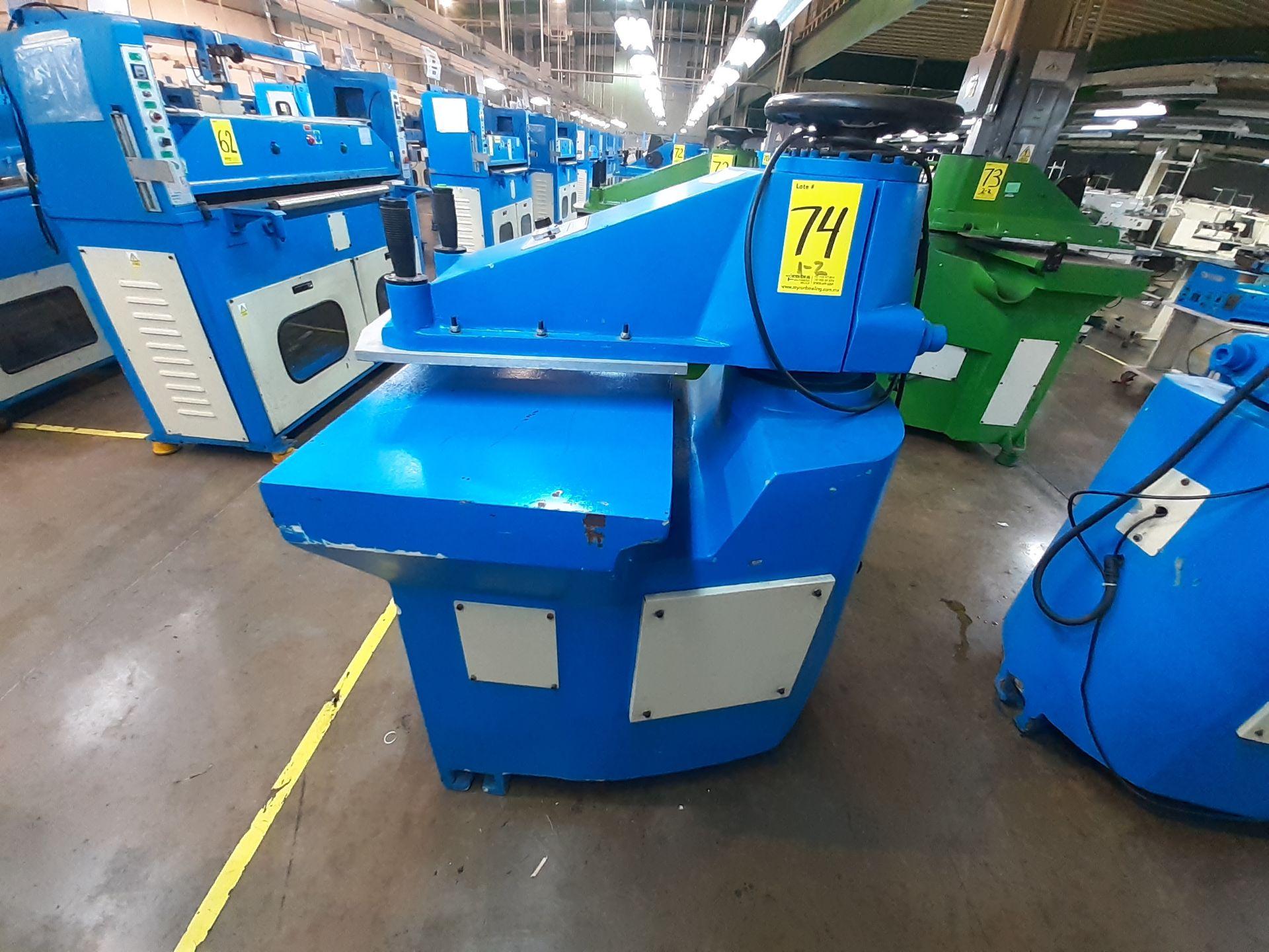 (2) Prensas de corte hidráulica de brazo oscilante, marca Dong guan Dah Dine Machine, Modelo: DJ-103 - Image 2 of 17