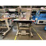(2) Máquinas de costura marca Golden Wheel de una aguja.