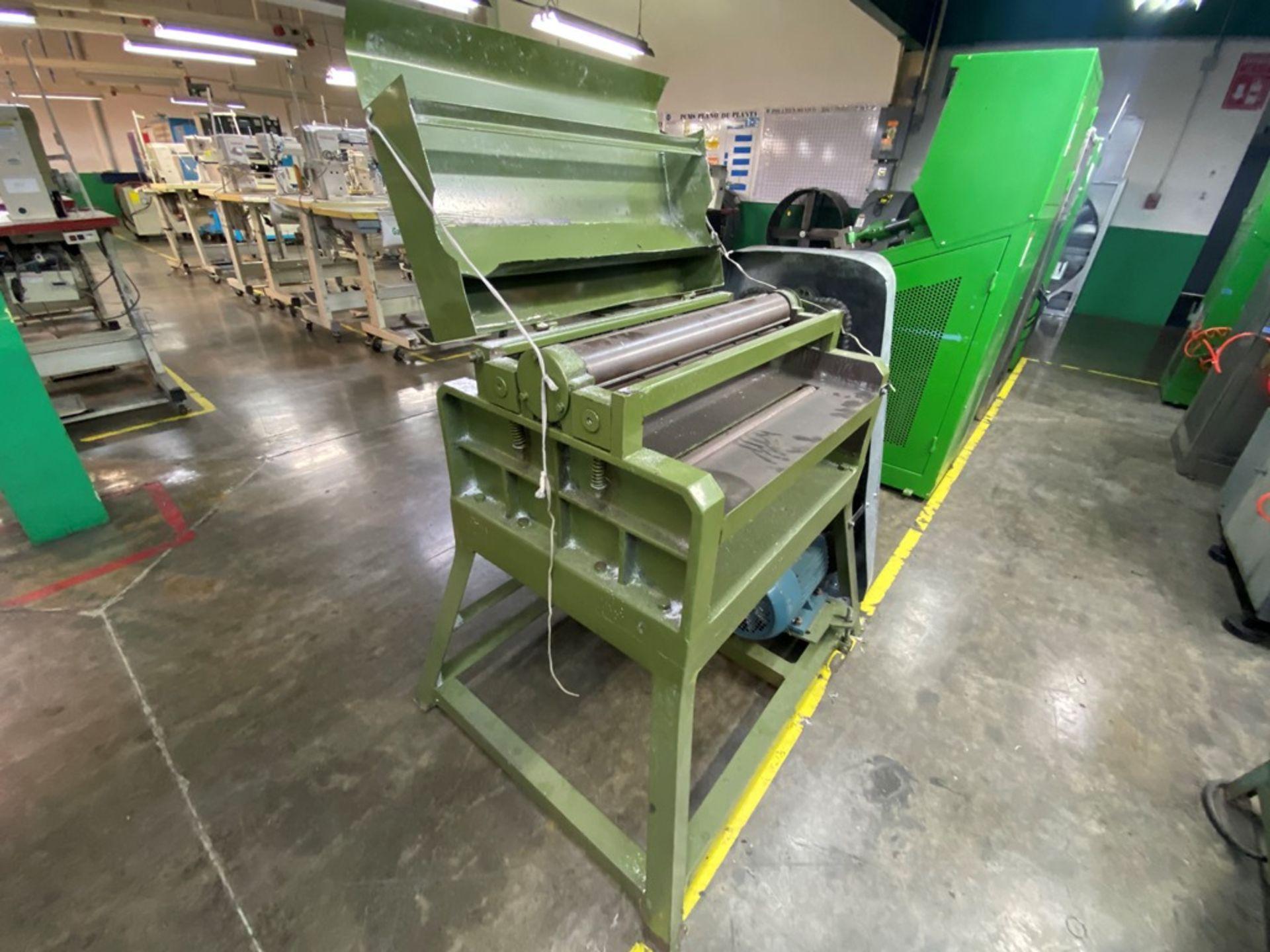 Lot 44 - Lijadora de tabla marca Funing Woodworking Machinery, Activo: PCM02143
