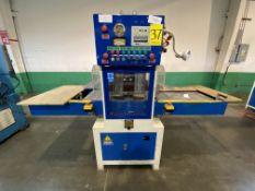 Máquina de corte y grabado de alta frecuencia marca Orisol, Modelo: HF12X15