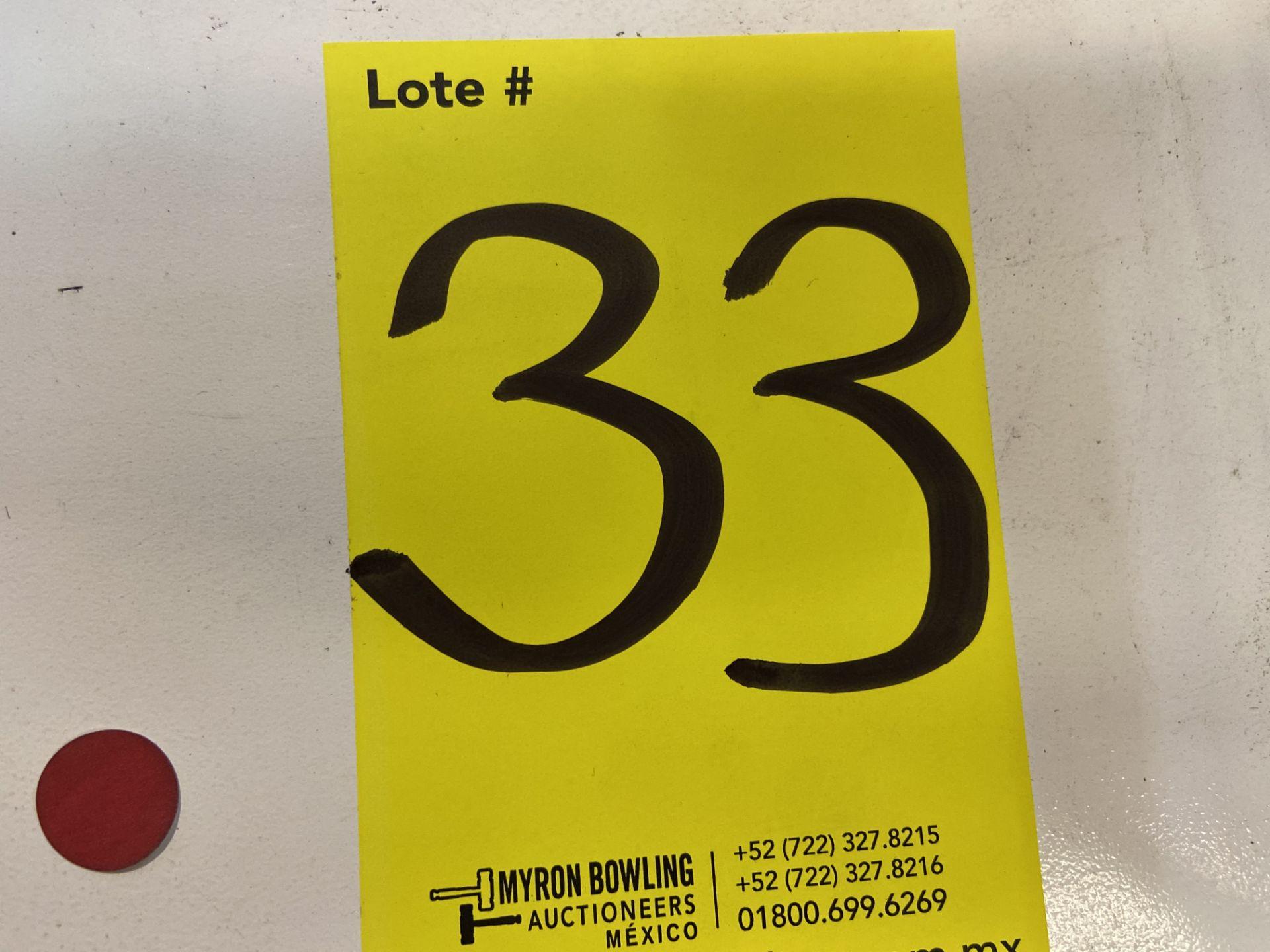 Lot 33 - Prensa plana neumática marca H&H, Modelo: CS-654