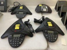 Lote de 3 teléfonos para conferencia marca POLYCOM