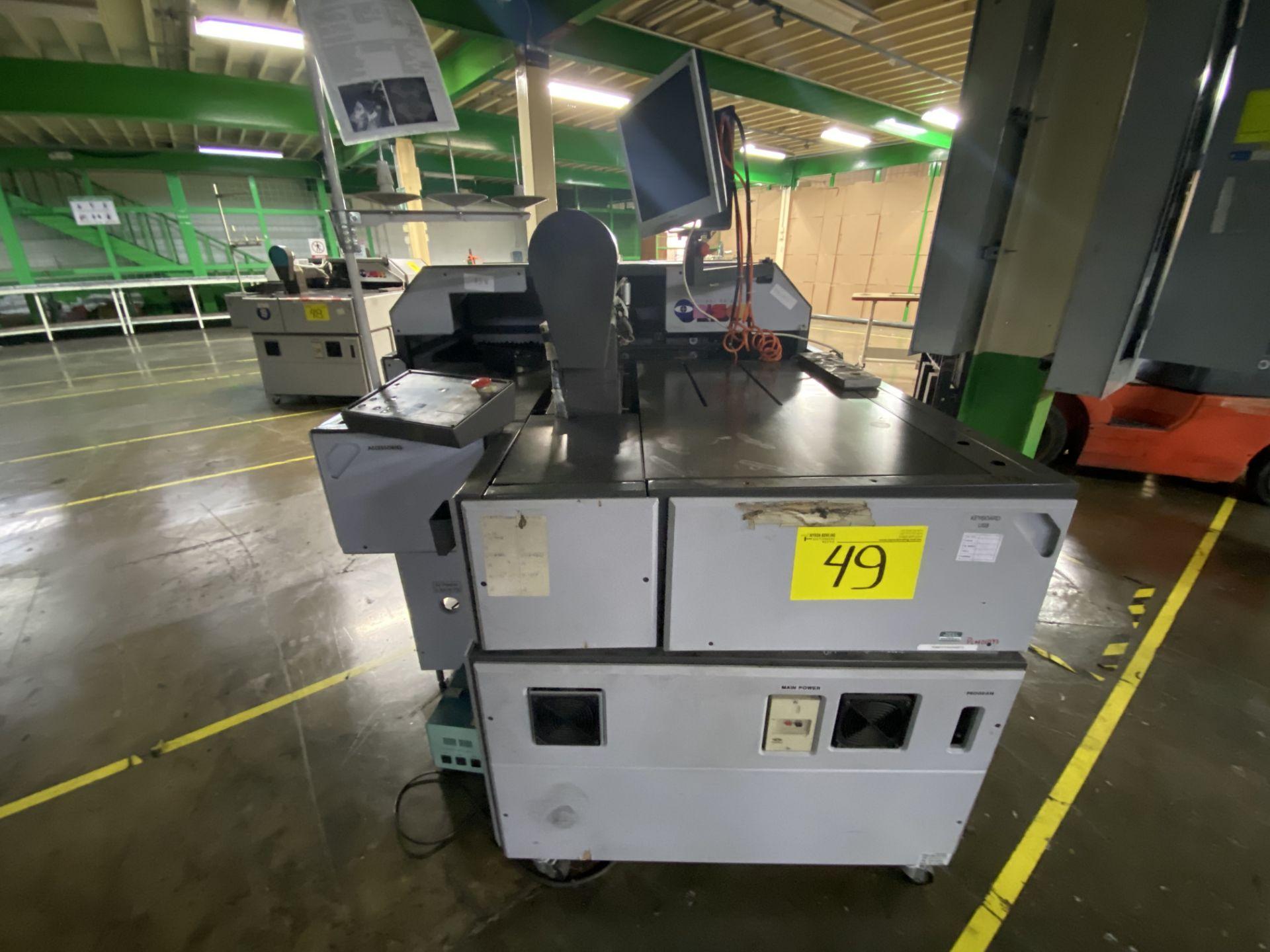 Lot 49 - Máquina de coser industrial computarizada de alto rendimiento marca Orisol, Modelo: OS-305