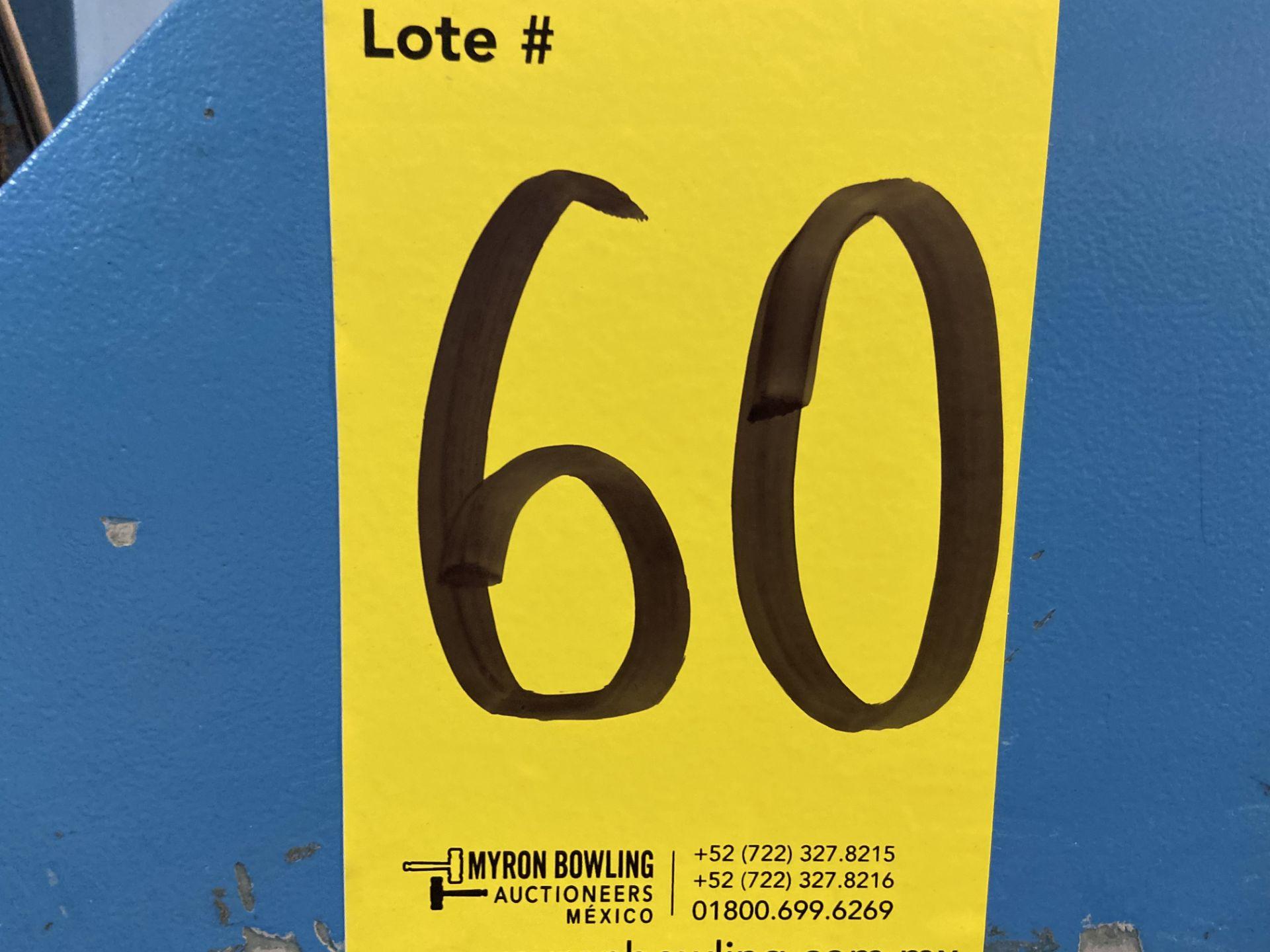 Lot 60 - (2) Prensas de corte hidráulica plana, marca Chenfeng, Modelo: CF-526BT