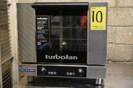 Horno de convección eléctrico marca Moffat, fabricado en acero inoxidable, Modelo: Turbofan E23D3