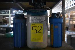 Equipo de filtro suavizador, Activo: 004579, incluye dos filtros. Sólo por partes.